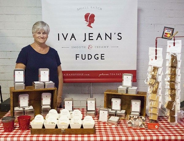 Debra Hanks of Iva Jean's Fudge. (Photo by Amy Herman)