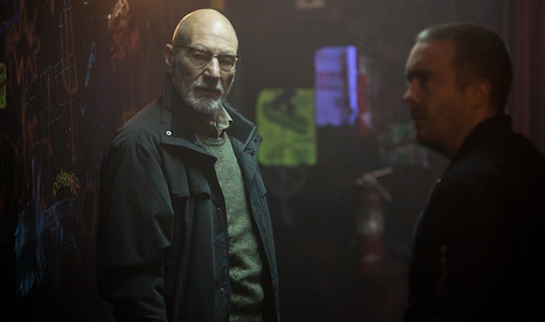 Patrick Stewart in Green Room (Photo: A24 & Lionsgate)