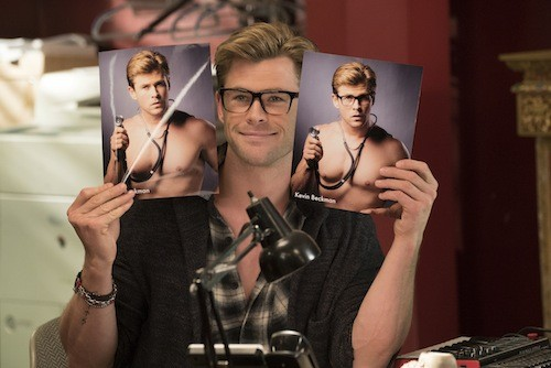 Chris Hemsworth in Ghostbusters (Photo: Columbia)