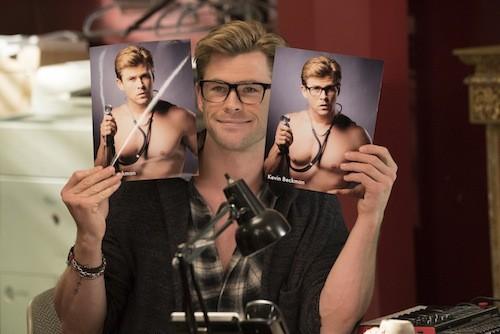 Chris Hemsworth in Ghostbusters (Photo: Columbia)