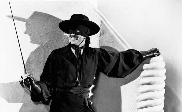 Tyrone Power in The Mark of Zorro (Photo: Kino)