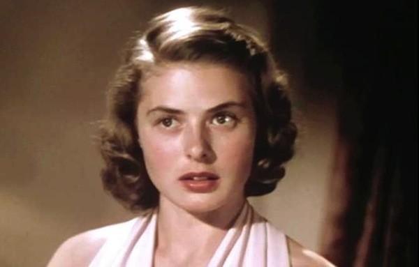 A shot from Ingrid Bergman's screen test, as seen in Ingrid Bergman: In Her Own Words (Photo: Criterion)