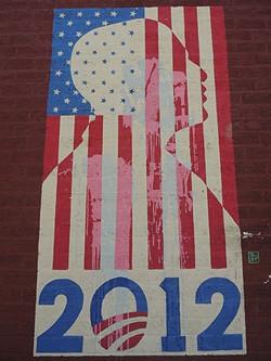 Obama mural - RYAN PITKIN
