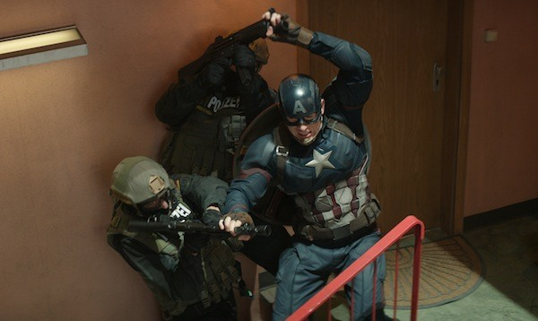Chris Evans in Captain America: Civil War (Photo: Marvel & Disney)