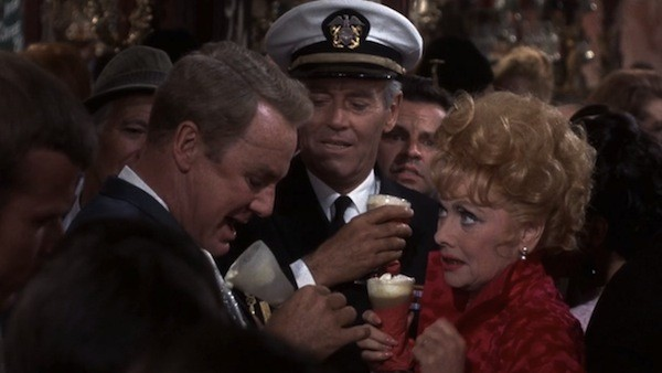 Van Johnson, Henry Fonda and Lucille Ball in Yours, Mine and Ours (Photo: Olive Films & MGM)