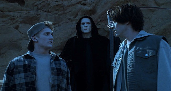 Alex Winter, William Sadler and Keanu Reeves in Bill & Ted's Bogus Journey (Photo: Shout! Factory & MGM)