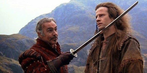 Sean Connery and Christopher Lambert in Highlander (Photo: Lionsgate)