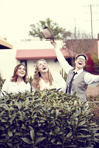 The cast of PaperHouse Theatre's Much Ado About Nothing.