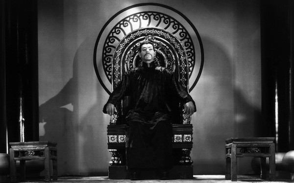 Boris Karloff in The Mask of Fu Manchu (Photo: Warner)