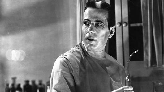 Humphrey Bogart in The Return of Doctor X (Photo: Warner)