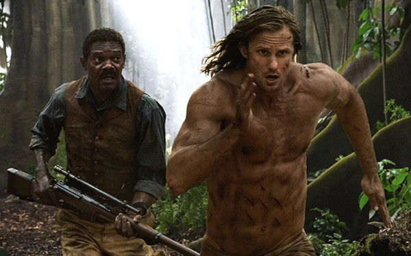 Samuel L. Jackson and Alexander Skarsgård in The Legend of Tarzan (Photo: Warner)