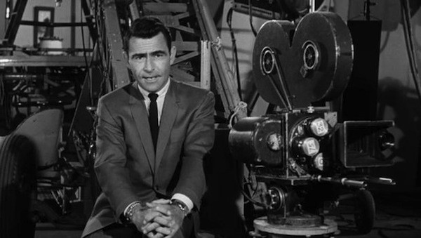 Rod Serling, creator and host of The Twilight Zone (Photo: Paramount & CBS DVD)