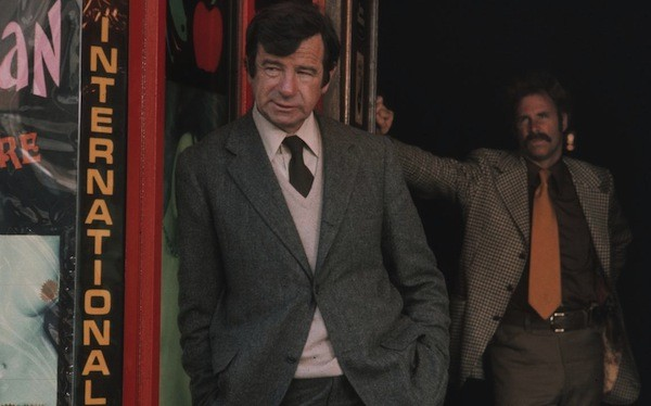 Walter Matthau and Bruce Dern in The Laughing Detective (Photo: Kino)
