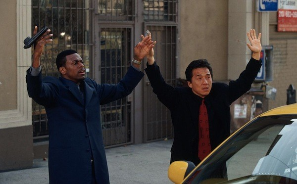 Chris Tucker and Jackie Chan in Rush Hour  (Photo: Warner)