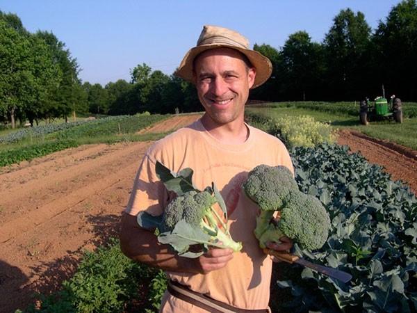 Sammy Koenigsberg of New Town Farm in Waxhaw.