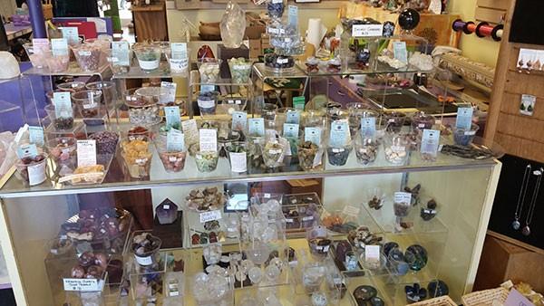Crystals at The Bag Lady