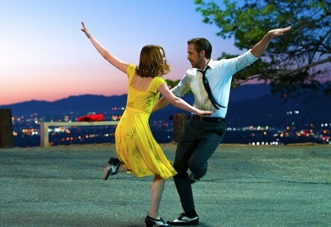 Emma Stone and Ryan Gosling in La La Land (Photo: Lionsgate)