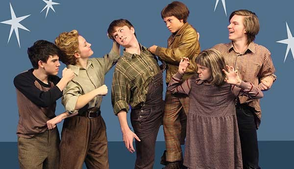 The Best Christmas Pageant Ever: The Musical runs through Dec. 23 at ImaginOn. (Photo credit: Donna Bise)