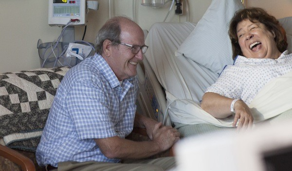 Richard Jenkins and Margo Martindale in The Hollars (Photo: Sony Pictures Classics)