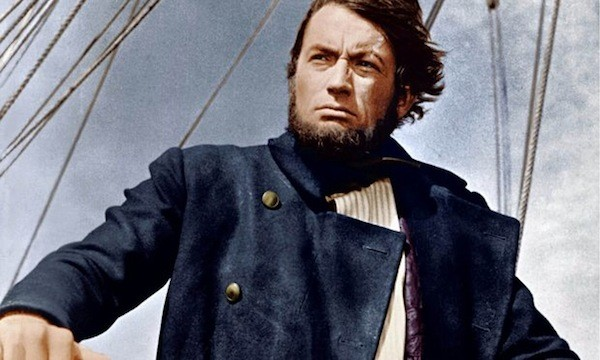 Gregory Peck in Moby Dick (Photo: Twilight Time)