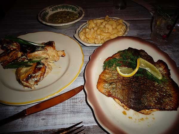 Food from Haberdish (Photo credit: Anita Overcash)