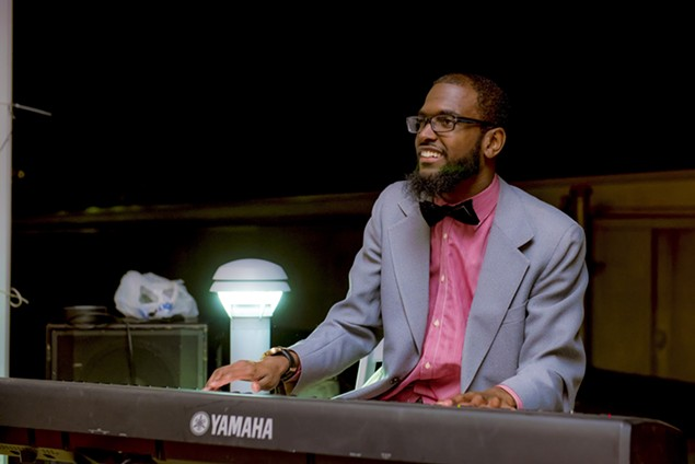 Terrance Shepherd is H2O's keyboardist and musical director