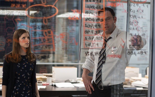 Anna Kendrick and Ben Affleck in The Accountant (Photo: Warner)