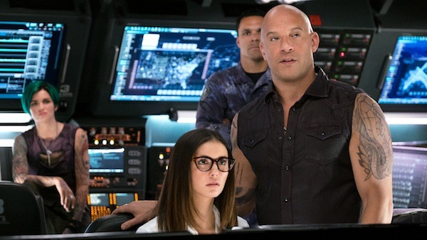 Ruby Rose, Nina Dobrev, Tony Gonzalez and Vin Diesel in xXx: Return of Xander Cage (Photo: Paramount)