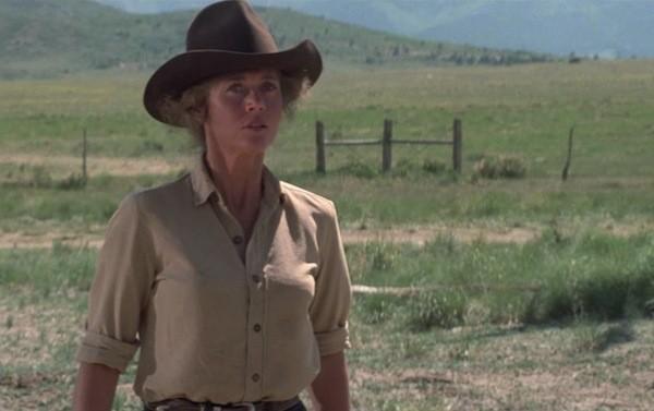 Jane Fonda in Comes a Horseman (Photo: Twilight Time)