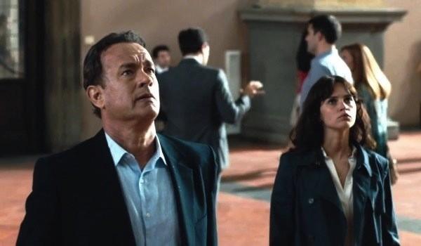 Tom Hanks and Felicity Jones in Inferno (Photo: Columbia)