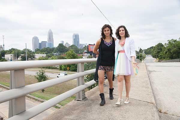 Lara Americo (left) and Joanne Spataro. - JEFF HAHNE