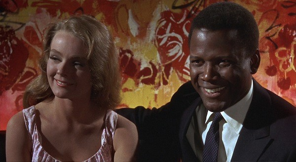 Katherine Houghton and Sidney Poitier in Guess Who's Coming to Dinner (Photo: Columbia)