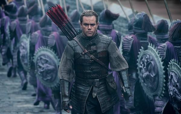 Matt Damon in The Great Wall (Photo: Universal)