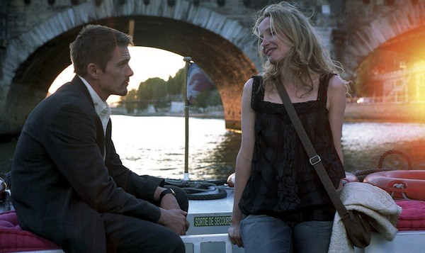Ethan Hawke and Julie Delpy in Before Sunset (Photo: Criterion)
