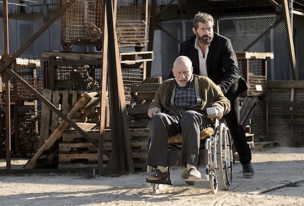 Patrick Stewart and Hugh Jackman in Logan (Photo: Fox)