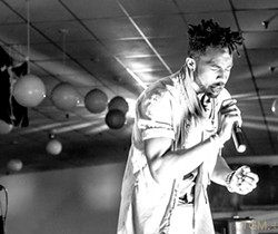 Jason Jet performing - PHOTO BY JOSEPH BROWN