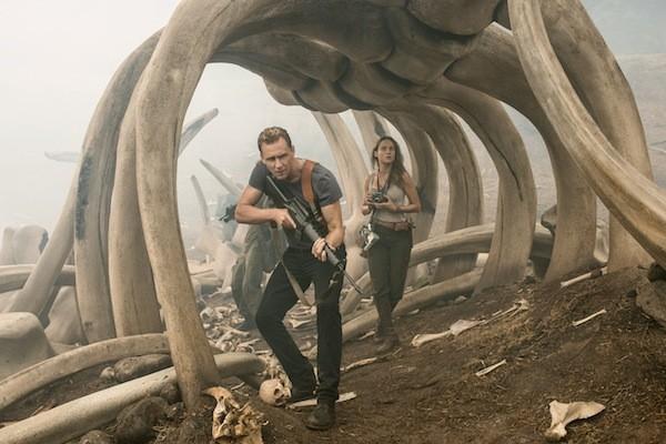 Tom Hiddleston and Brie Larson in Kong: Skull Island (Photo: Warner Bros.)
