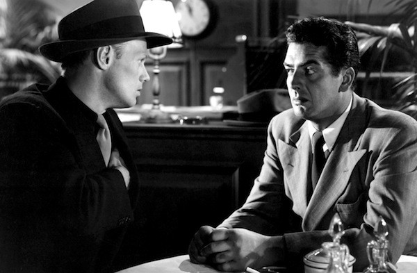 Richard Widmark and Victor Mature in Kiss of Death (Photo: Twilight Time)