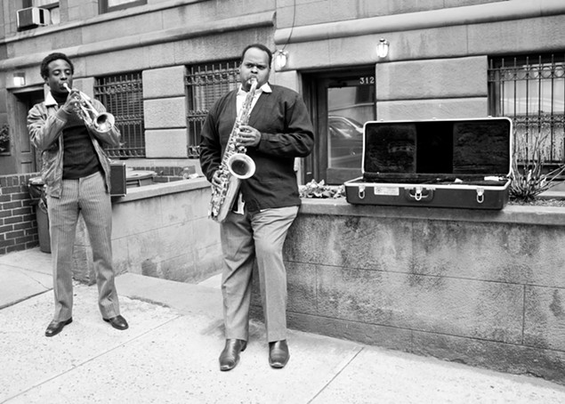 El-Amin as Miles, Talley as Coltrane, in New York City - PHOTO BY LOVO