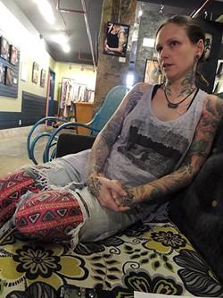 Hayley Moran in Haylo. - RYAN PITKIN