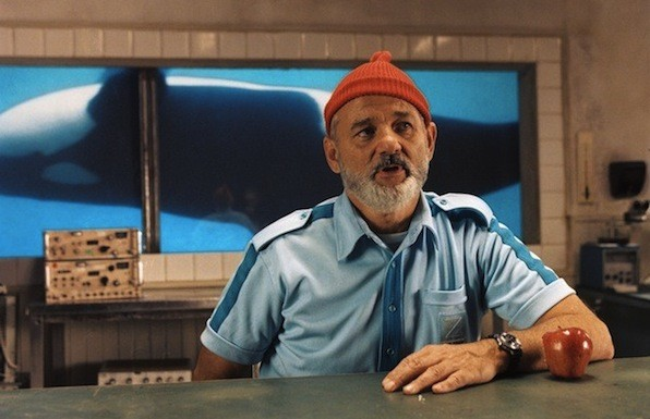 Bill Murray in The Life Aquatic with Steve Zissou (Photo: Buena Vista)