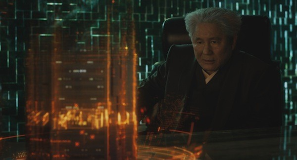 """""""Beat"""" Takeshi Kitano in Ghost in the Shell (Photo: Paramount)"""