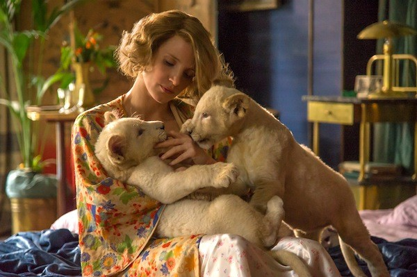Jessica Chastain in The Zookeeper's Wife (Photo: Focus Features)