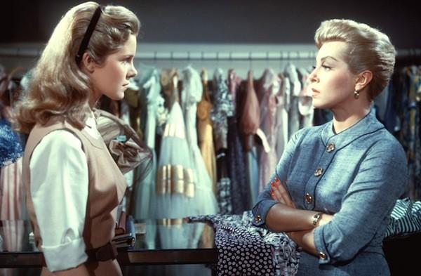 Diane Varsi and Lana Turner in Peyton Place (Photo: Twilight Time)