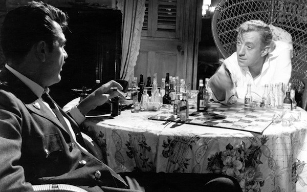 Ernie Kovacs and Alec Guinness in Our Man in Havana (Photo: Twilight Time)