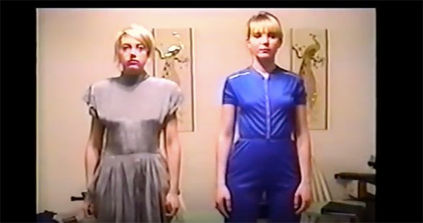 Video still of Julia Vering and Angela Saylor from a post-Muneca Chueca project