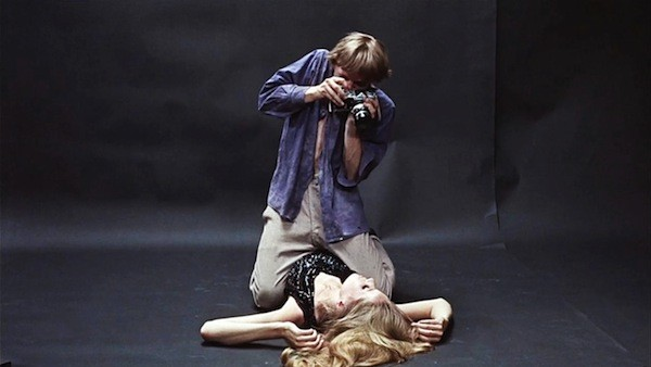 David Hemmings and Verushka in Blow-Up (Photo: Criterion)