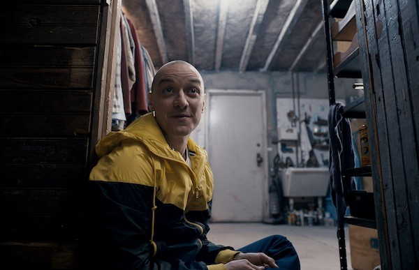 James McAvoy in Split (Photo: Universal)