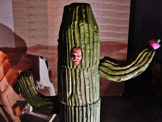 XOXO's 'All the Dogs and Horses' cactus photo by John Prichard