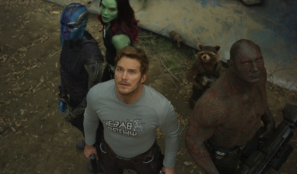The star warriors in Guardians of the Galaxy Vol. 2 (Photo: Marvel)